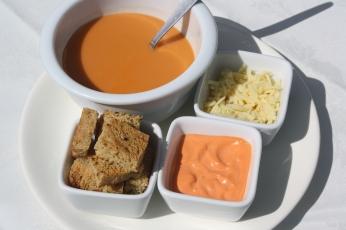 Genuine Marseille fish soup